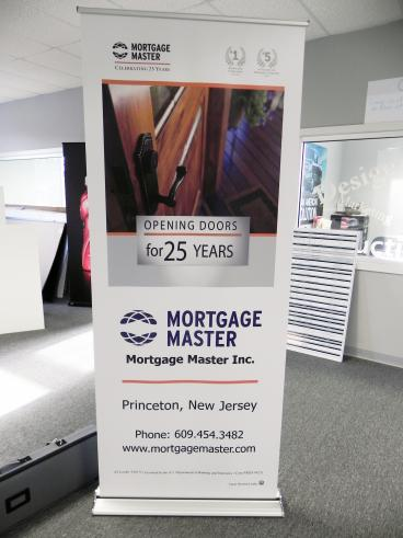 Pull up banner in Princeton, NJ