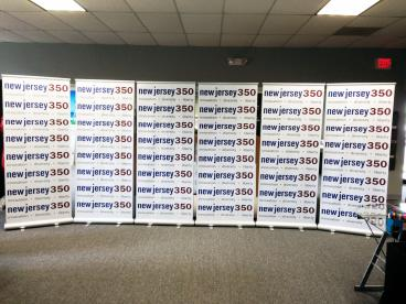 Banner ups and event signage