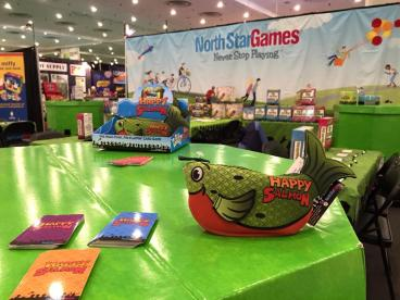 Trade Show for North Star Games for the Launch of Happy Salmon