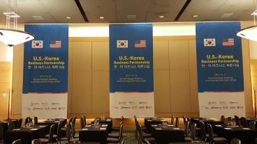 Event Graphics for U.S. Korean Partnership