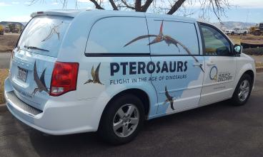 Fort Collins Museum of Discovery, Pterosaurs exhibit van wrap