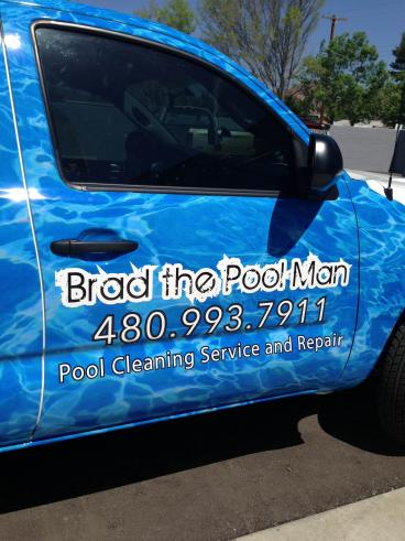 Close Up of a Vehicle Wrap