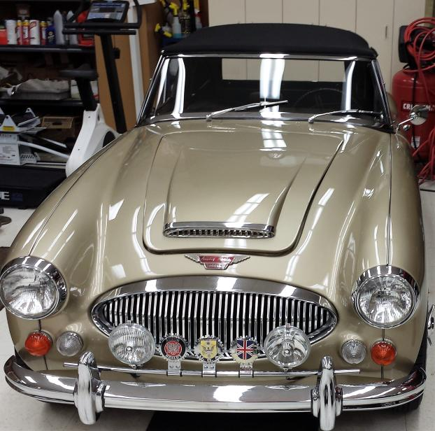 This Austin-Healey is a
