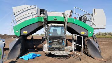 This compost turner received a new windshield the other day. Thumbnail