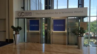 Elevator Graphic, Event Graphic, Corporate Branding, Dallas, TX