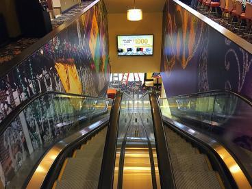 wrap escalator elevator mardi gras casino blackhawk, CO denver, CO