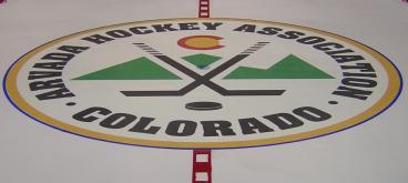 floor graphic denver, CO hockey association