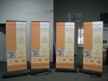 EOC Banner Stands