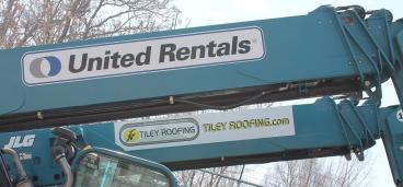 decals united rentals aerial lift denver, CO