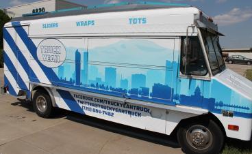 fleet wrap truck Yeah denver, CO