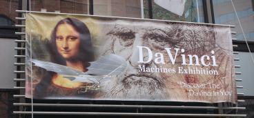 outdoor signage denver, CO history museum daVinci