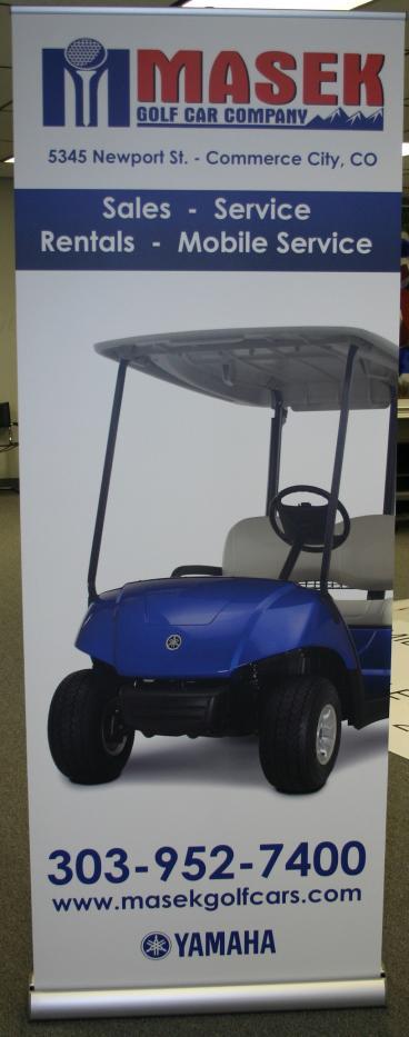 retractor denver, CO golf cart