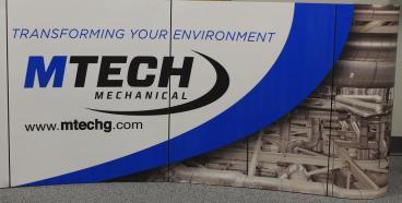 trade show display denver, CO mtech mechanical