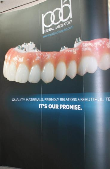 trade show display denver, CO dental