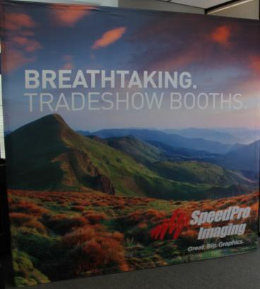 trade show booth denver, CO speedpro imaging