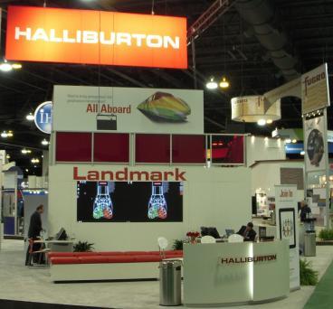 trade show display denver, CO halliburton
