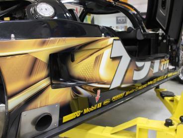vehicle wrap race car denver, CO