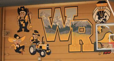 wall mural WR denver, CO