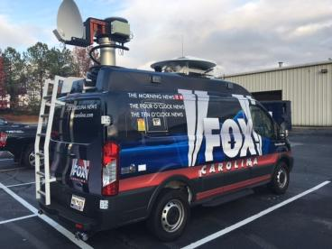 Fox Carolina News Van, SpeedPro Greenville