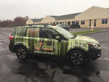 Vehicle Wrap - Big Frog Custom T-Shirts
