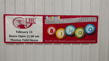 LHU Fund Raiser Banner