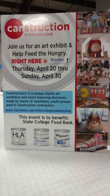 Canstruction Event for 2017