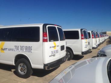 DART Fleet Graphics, Dallas, TX