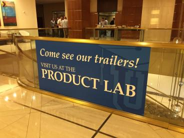 Event Graphics, Corporate Branding, Utility Trailers, Dallas, TX