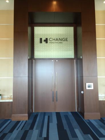 Event Graphics, Corporate Branding, Change Healthcare, Dallas, TX