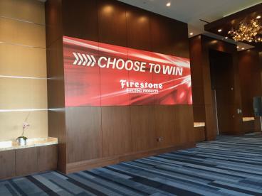 Event Graphics, Corporate Branding, Firestone, Dallas, TX