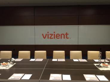 Event Graphics, Corporate Branding, Vizient, Dallas, TX