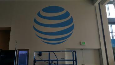 Event Graphics, Corporate Branding, AT&T, Dallas, TX