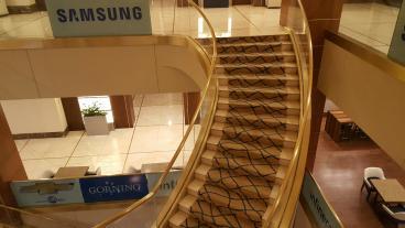 Event Graphics, Corporate Branding, Samsung, Dallas, TX