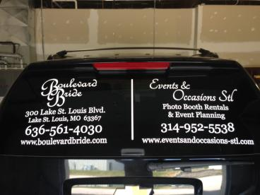Cut vinyl to advertise your business