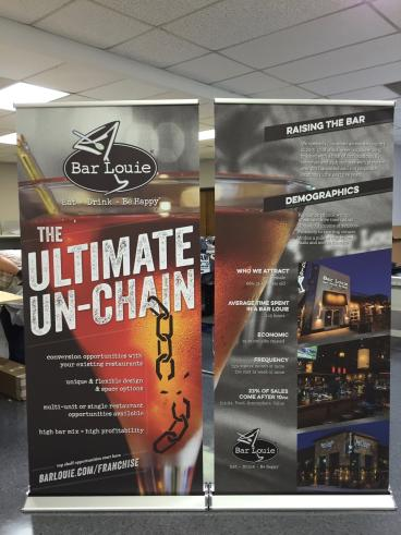 Retractor Banner Stands, Corporate Branding, Point of Purchase, Dallas, TX