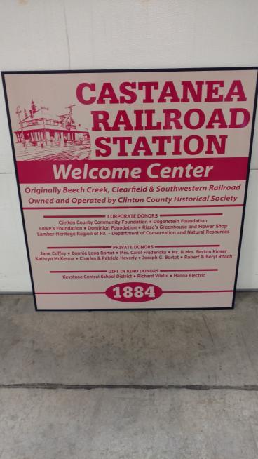 Cantanea Railroad Sign