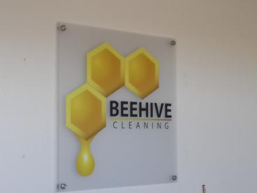 Acrylic Sign in Office Setting
