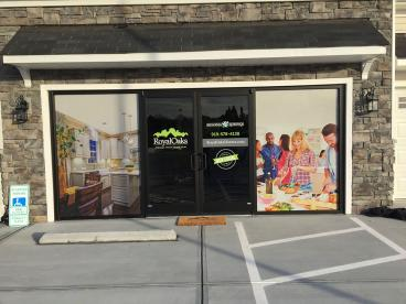 Window Graphics for Sonoma Springs in Fuquay-Varina, NC