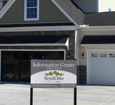 Signage for Sonoma Springs in Fuquay-Varina, NC