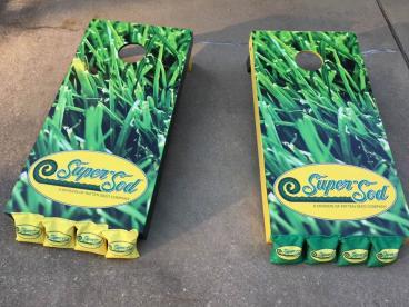 Corn Hole Boards for Super Sod