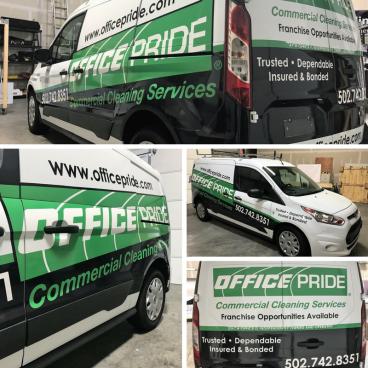 Office Pride Vehicle Graphics