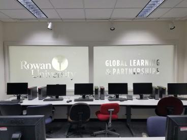 Frosted Vinyl at Rowan University