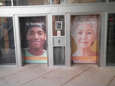 Epicentre Elevator in Uptown Charlotte
