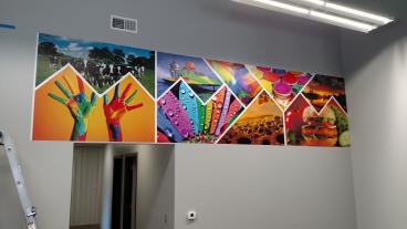 Studio Wall Mural