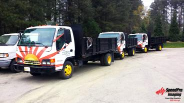 The Southern Landscape Group gets New Graphics for Dump Trucks