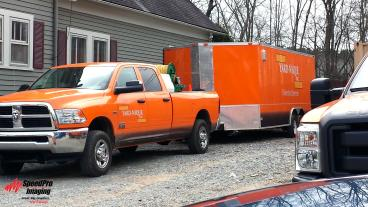 Trucks and Trailer Wraps for Yardnique