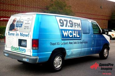New Graphics for Chapelboro Van