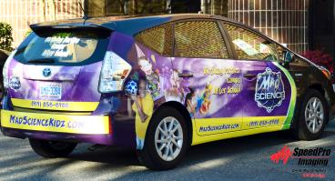 Mad Science Kidz Newly Wrapped Prius