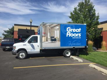 Great Fllors Box Truck