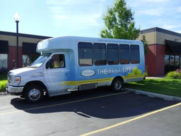 TouchMark Retirement Community Shuttle Bus
